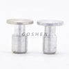 Aluminum Flat Head Waisted Shank Rivet
