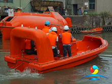 6 person Open Type Fast Rescue Boat With Outboard Engine