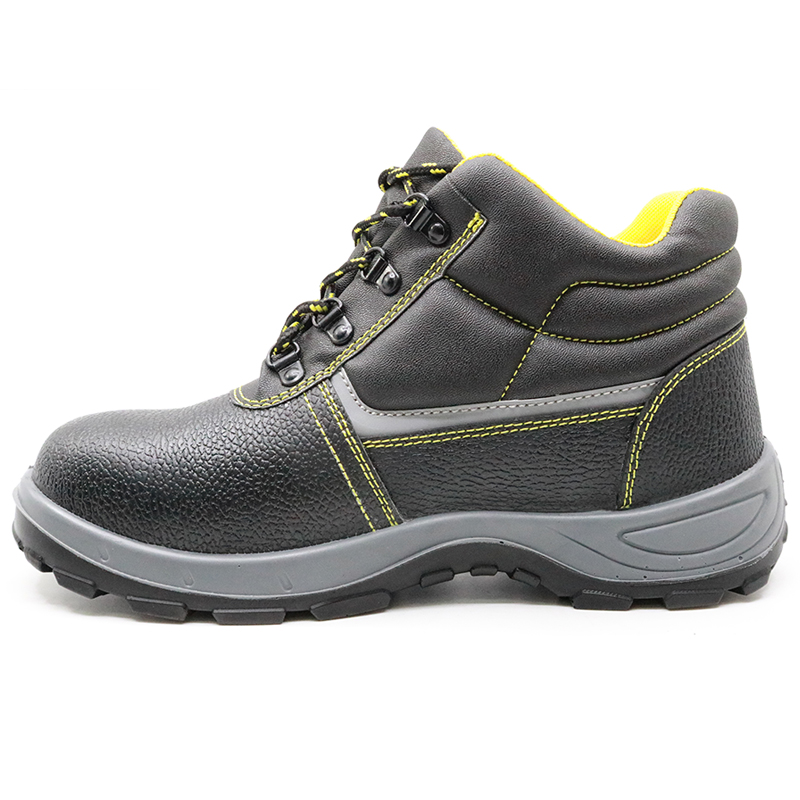 Slip resistant anti static steel toe industrial safety shoes russia