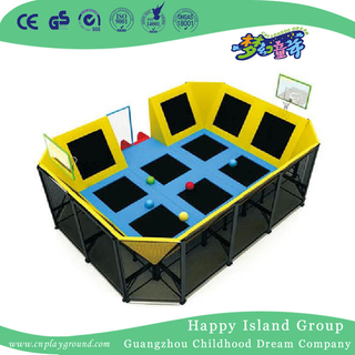 Middle Children Play Combination Trampoline For Sale (HF-19701)