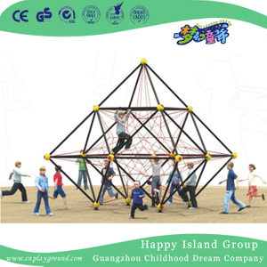 Outdoor Mini Polyhedron Climbing Net Frame For Challenge (1918703)