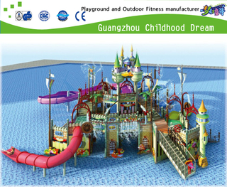 Outdoor Large Aqua House Family Water Park Playground