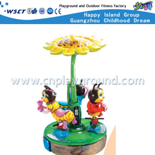 Mini Size Kids Outdoor Electric Cartoon Bee Carousel Ride Playgrounds (A-11501)