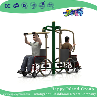 Outdoor Handicapped Fitness Equipment Sit and Push Training Equipment for Sports Recovery Training (HLD14-OFE02)