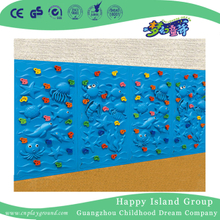 Outdoor Ocean Feature Climbing Playground Series Plastic Wall (HF-19003)