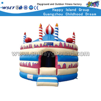 Outdoor Happy Inflatable Castle for Circus Holiday Party (HD-9904)