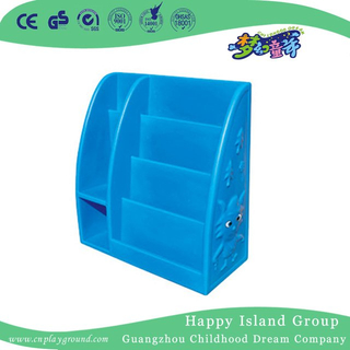 School Blue Plastic Kids Book Shelf (HG-7115)
