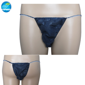 Disposable nonwoven Thong for Man