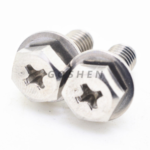 Stainless Steel Phillps Head Hex Head Combination Screw