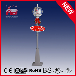 (LV30175A-WSS11) 2016 Modern Outdoor Snow Globe Street Lamp with LEDs
