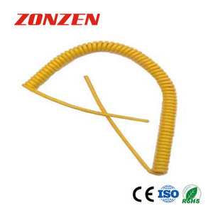 K Type Retractable Sensor Cable With Two Open Ends For Thermocouple
