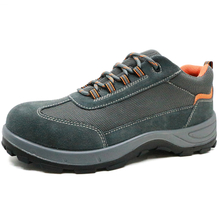 China slip resistant steel toe cap breathable delta safety shoes