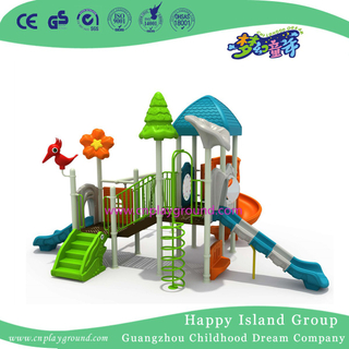 New Design Small Outdoor Combination Slide Playground with Swing(FY-L11107-1)