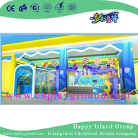 New Design Indoor Ocean World Theme Children Playground Equipment (HD-16SH01)