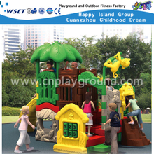 Animal Cartoon Plastic Toddler Playground for Sale(HA-10401)