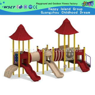 New Structure Combination Sevilla Galvanized Steel Playground Sets On Stock (HD-O-204)
