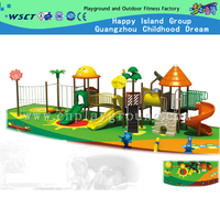 Outdoor Large Children Animal Galvanized Steel Playground with Slide Equipment(HD-3001)