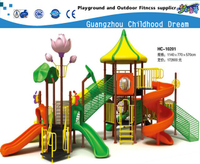 Outdoor School Seville Playground Equipment with Lotus Flower (HC-10201)