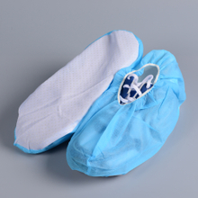 Disposable SBPP + Plastic Bottom Anti-slip Shoe Cover