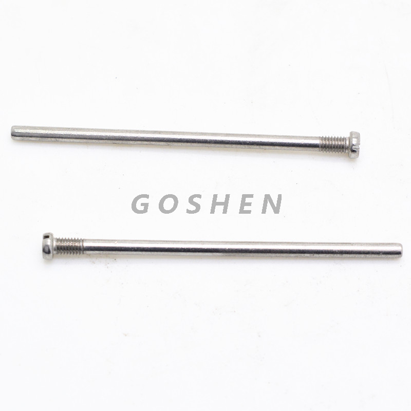 Custom Stainless Steel Long Pan Head Machine Screw