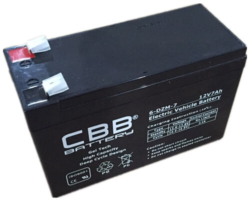 CBB® 6-DZM-7 Electric Bike/Scooter Battery