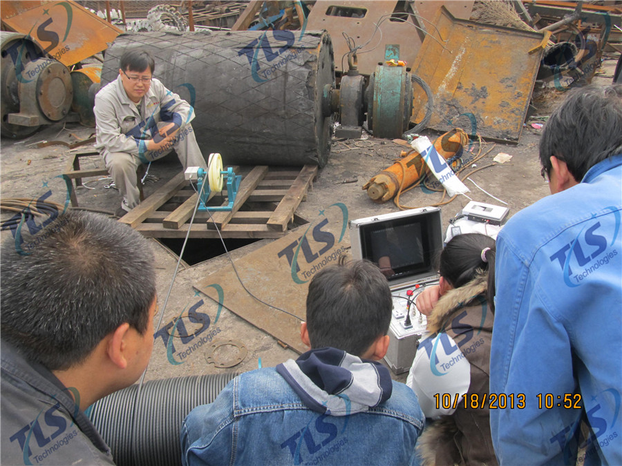 TLS Technologies Borehole Inspection Camera Application Case-Hongdong county coal mine well logging field-08