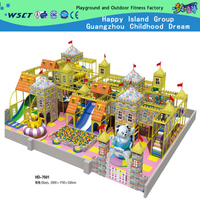 Amusement Park Large Children Castle Indoor Playground Equipment(HD-7501)