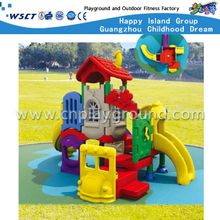 Plastic Slide Playground Equipment for School Toddlers (M11-03103)