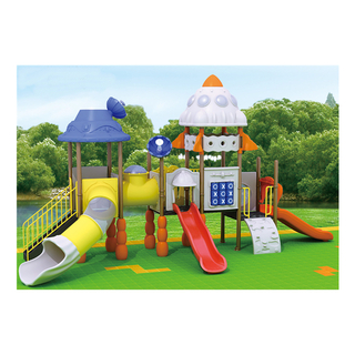 Outdoor Simple Toddler Outer Space Playground for Kindergarten (HJ-11702)