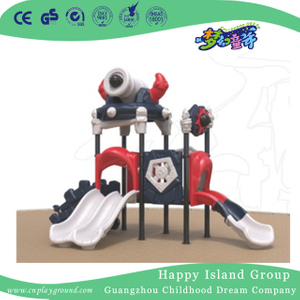 Outdoor Small Magic Tribe Series Children Combination Slide Playground (1910902)