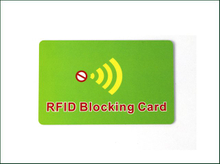 High Quality RFID Blocking Customized Credit Card