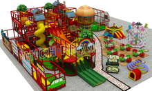 Kids Amusement Soft Indoor Playground 6627A