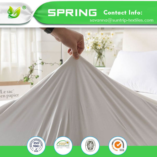 Cover Waterproof Bed Protector Breathable Mattress Enclosed Elastic Cotton