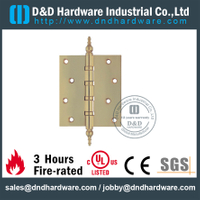 DDBH003-Solid brass 4 ball bearing pagoda tip hinge for Exterior Door