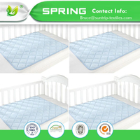 100% Polyester Waterproof Changing Pad Liners 3 Count Baby Changing Pad