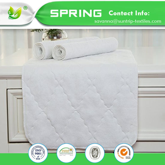Organic Bamboo Waterproof Baby Changing Pad Liners Washable Bedding 33*25 Inch