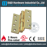 DDBH013-Solid brass crank hinge with BHMA standard for Commercial Door