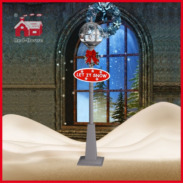 (LV30175W-SSS00) Ball Shape Street Light with Snowflake Patterns for Christmas