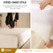 Hypoallergenic Water-Proof Mattress Protector, - Bed Bugs, Dust Mites, Pollen, Mold and Fungus, Proof