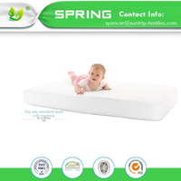 Bed Bugs Waterproof Mattress Protector Crib Mattress Pad