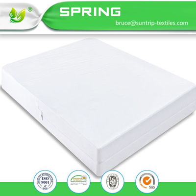 Zippered Anti Allergy Bed Bug Waterproof Mattress Total Encasement Protector Cover