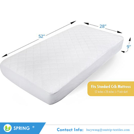 Ultra Soft Dryer Friendly Quilted Waterproof Mattress Protector