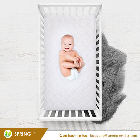 Smooth Hypoallergenic Non Woven Crib Mattress Cover