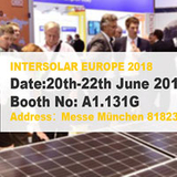 Sungold invites you to INTERSOLAR EUROPE 2018