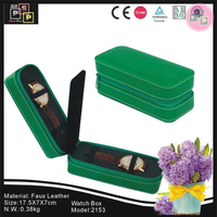 Gift Promotional PU leather watch travel case