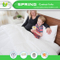 Fitted Waterproof Cotton Terry Mattress Protector with 18 Inches Deep Pocket Queen Size