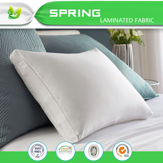 Zippered Pillow Protector with Breathable Smooth Surface
