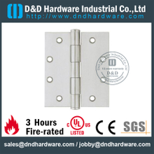 Grade 304 Plain Joint Hinge for Wooden Door with Satin Finish - DDSS004