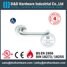S304 Hollow U Shape Safety Lever Handle For Office Door with EN1906-DDTH001