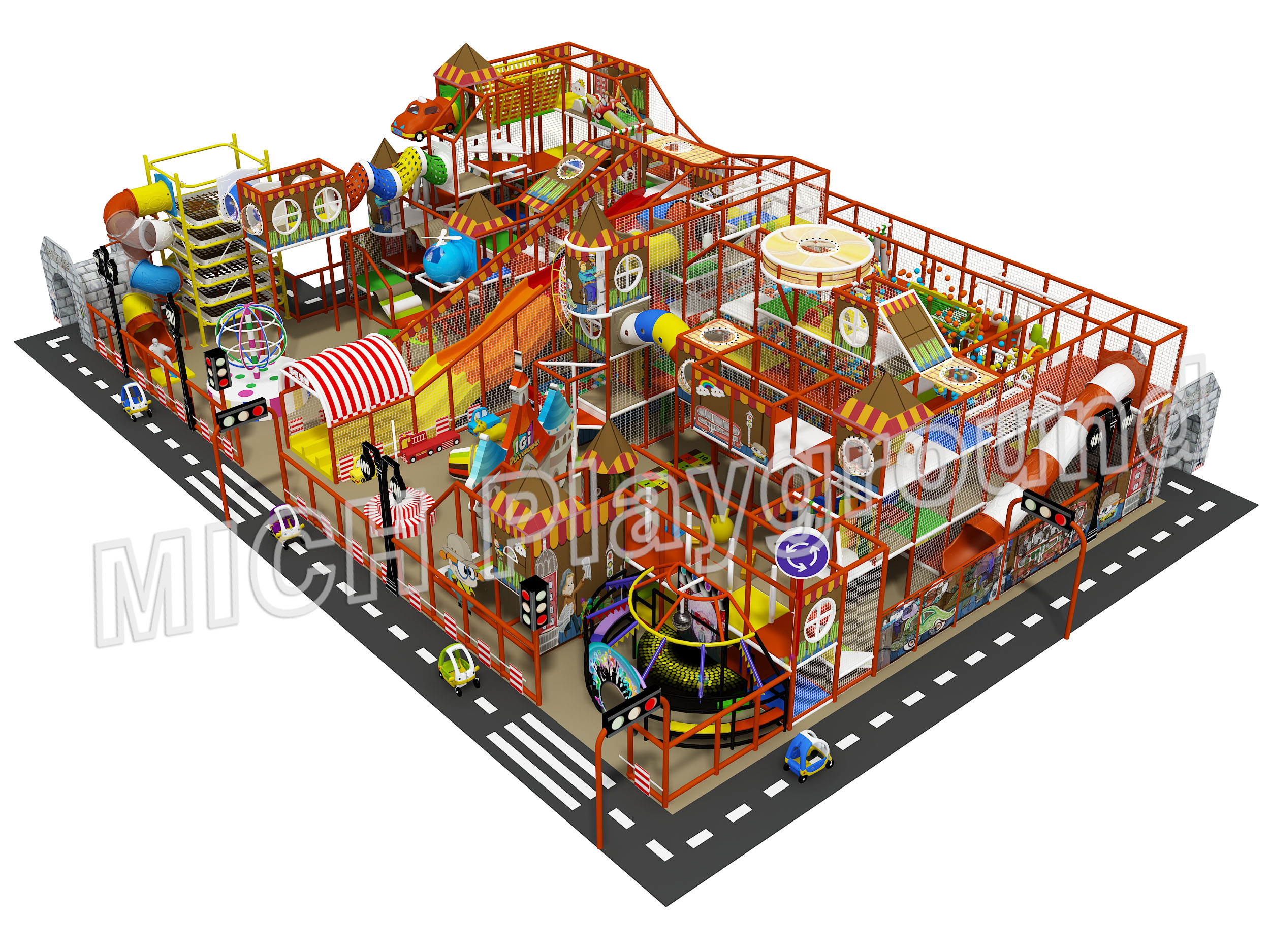 Mich Funny Indoor Amusement Playground 6625B